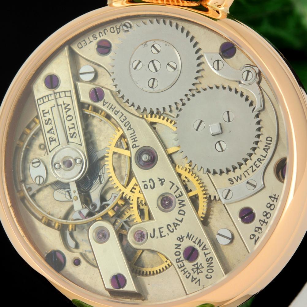 Мужские наручные швейцарские часы Vaсheron & Constantin позолоченные