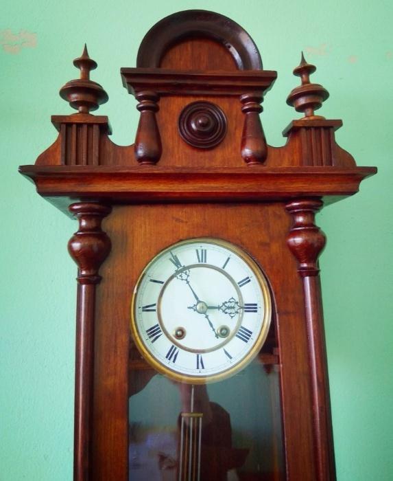 настенные часы Lenzkirch 1878 год