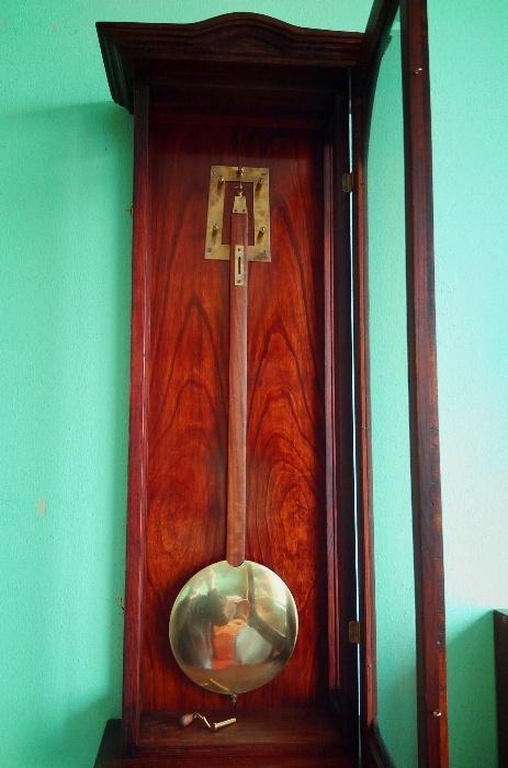 Старинные настенные часы австрийский регулятор