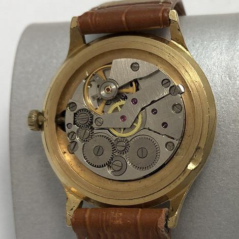 Мужские наручные часы Слава СССР экспортные 21 камень в позолоте