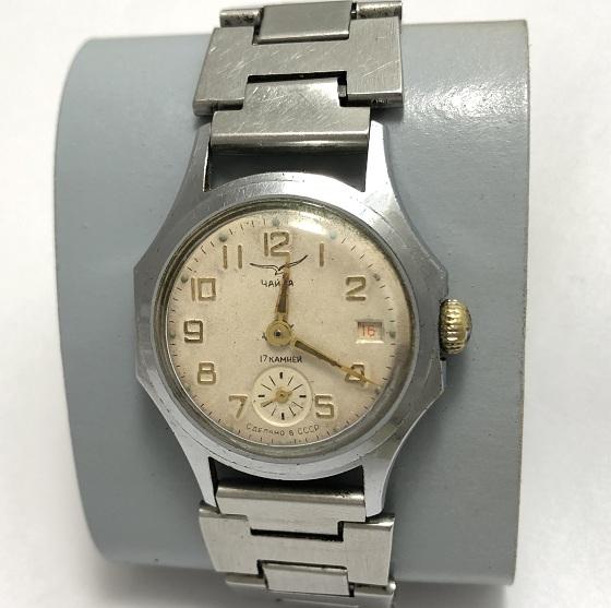 наручные часы Ракета СССР 2609 НА  позолота черные