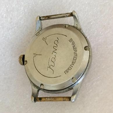 наручные часы Кама СССР рифленка