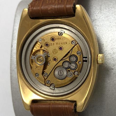 часы командирские СССР чисополь 18 камней позолоченные