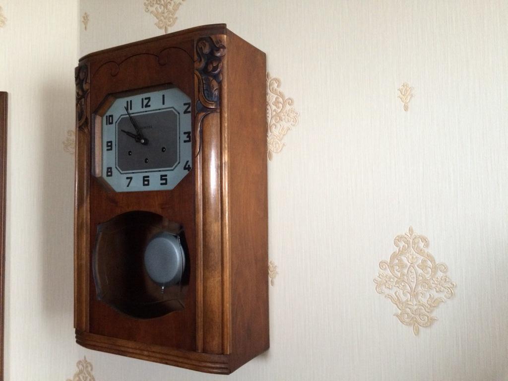 Часы настенные vedette старинные четвертные с боем и маятником