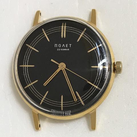 Наручные мужские часы Полет СССР 2209 черные