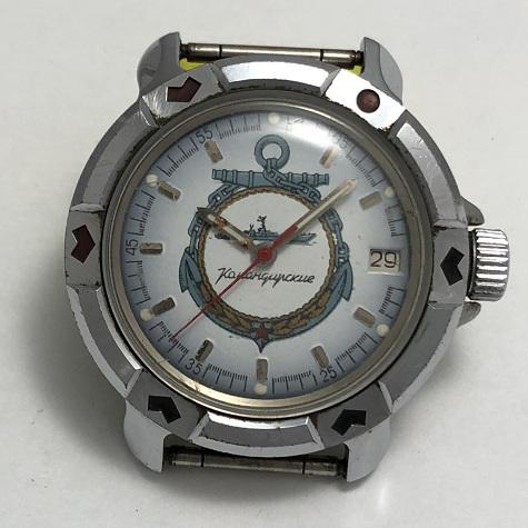 Командирские часы Восток с календарем
