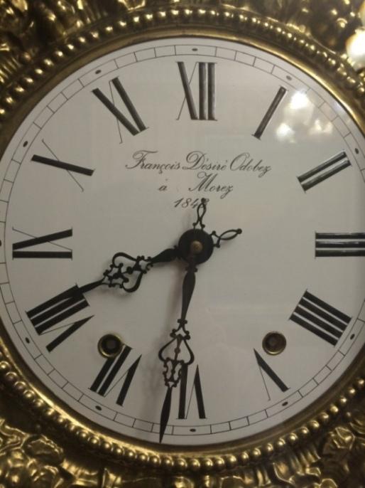 Старинные напольные часы Morbier