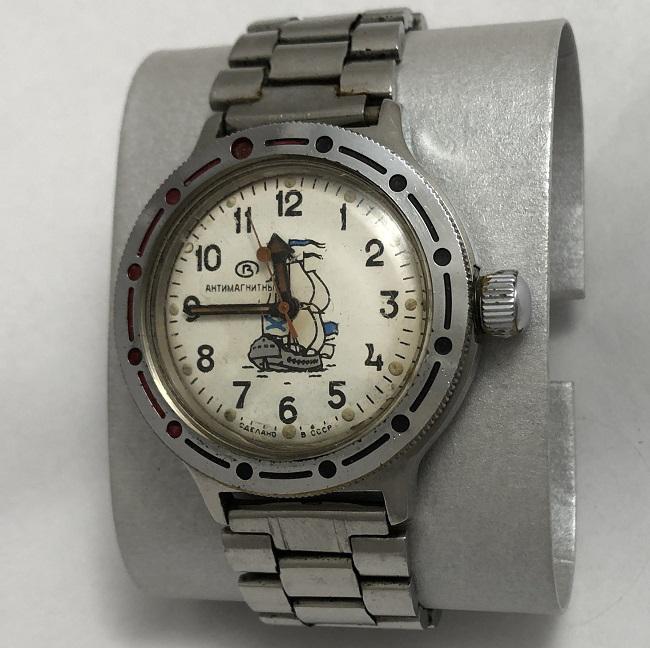 Мужские наручные часы Спутник из СССР