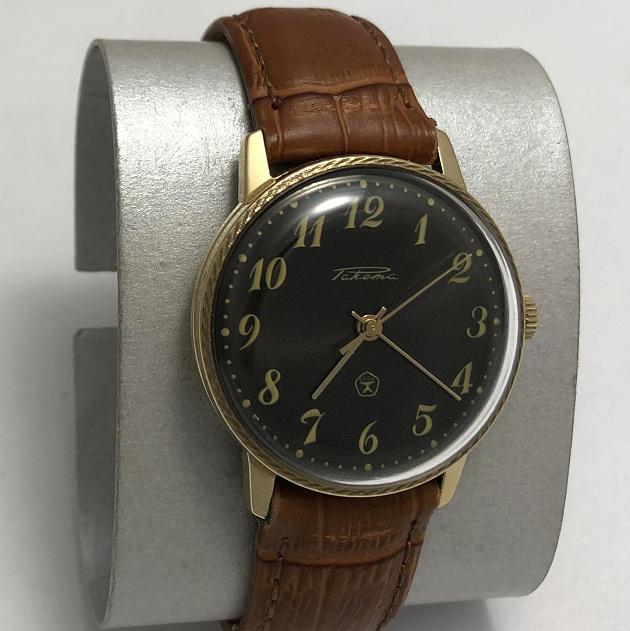 наручные часы Восток СССР 2409А экспортные позолота