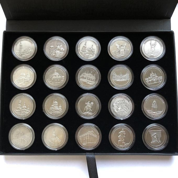 Сувенирный набор памятных монет-медалей Евро-2012