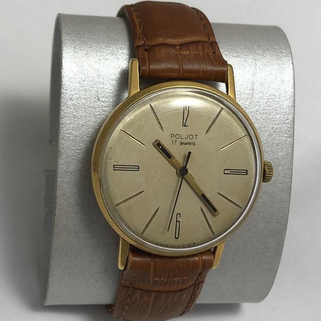 Наручные мужские часы Полет эпохи СССР на 17 камнях
