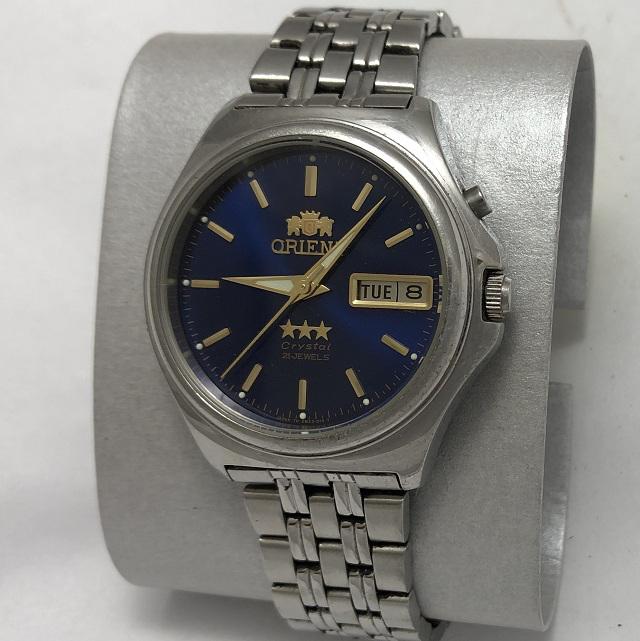 Мужские наручные Часы Orient 3 Stars синие