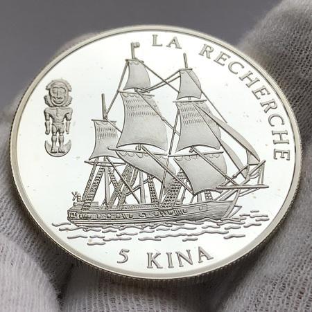 Серебряная монета Папуа Новая Гвинея
