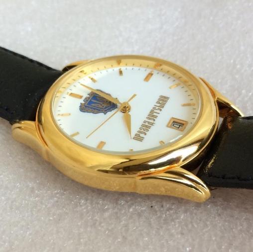 Мужские наручные часы Полёт Президентский новые позолоченые