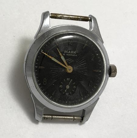 наручные часы Восток СССР графитово-синие 2214
