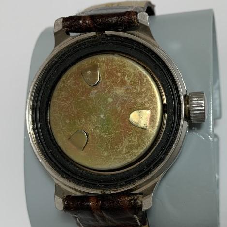 Мужские наручные часы Ракета 24 часа суточные СССР позолоченные