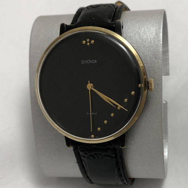 Мужские наручные часы Seconda СССР большие