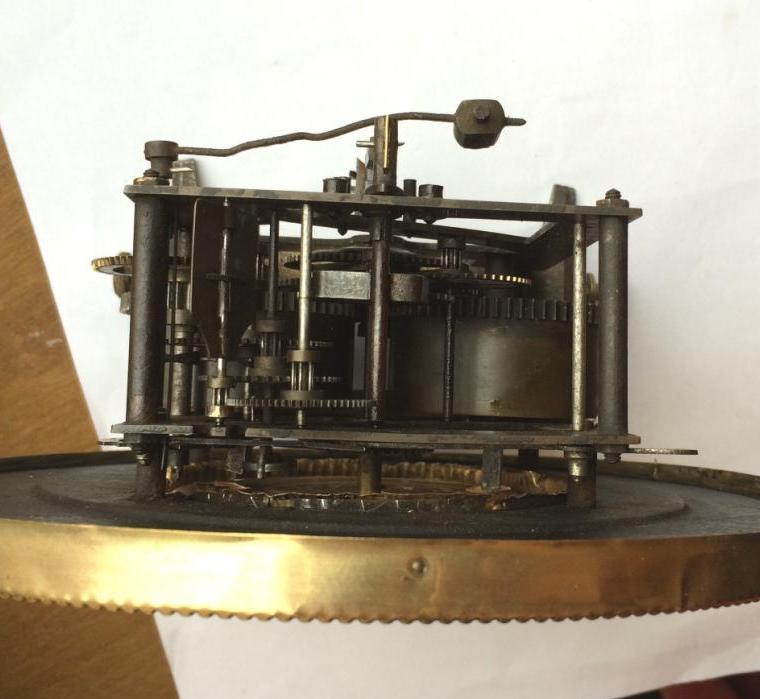 старинные настенные часы E.R.Schlenker