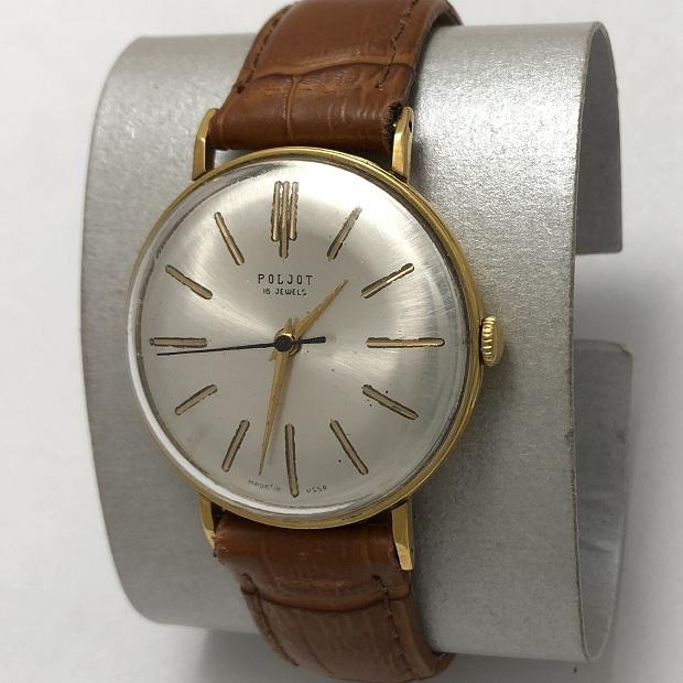Наручные мужские часы Полет СССР 16 камней редкие