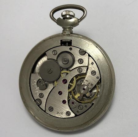 Карманные часы Молния 18 rubis