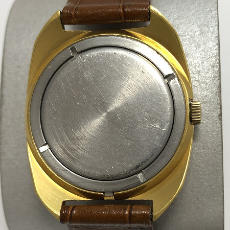 наручные часы Свет ЭЧЛ СССР позолоченные черные