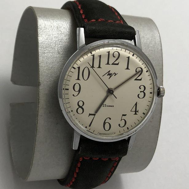 Мужские наручные часы Луч из СССР тонкие 23 камня