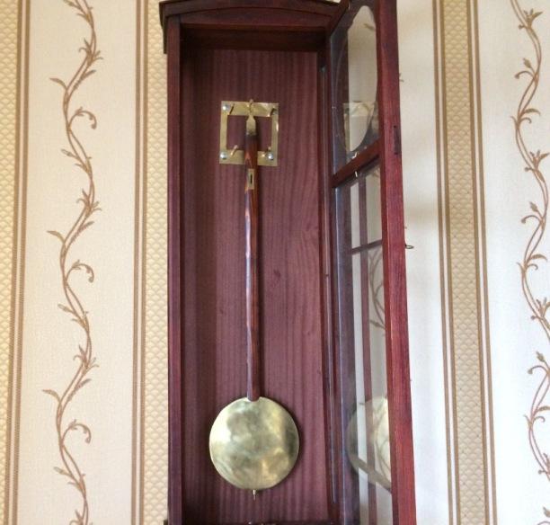 настенные часы австрийский регулятор 19 век