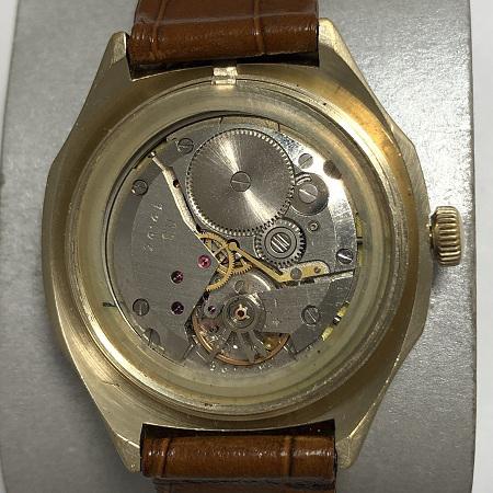 Мужские наручные часы Полет-Москва СССР позолоченные