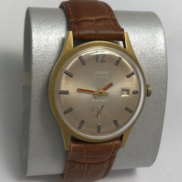Мужские наручные часы Cornavin 17 jewels СССР