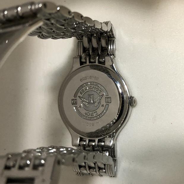 Мужские наручные швейцарские часы Longines