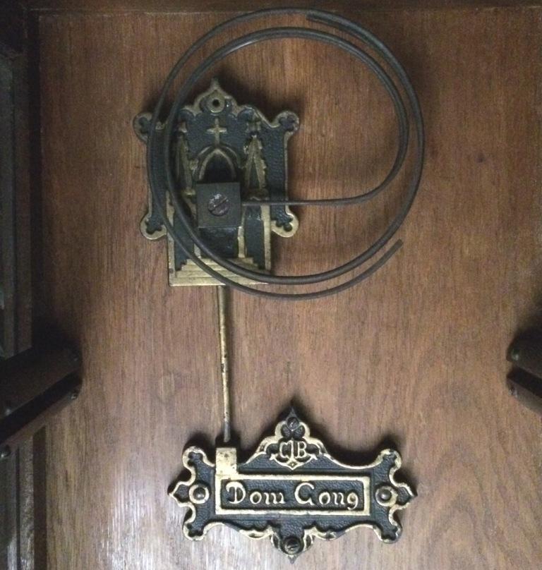 настенные часы Gustav Becker приблизительно 1912 года