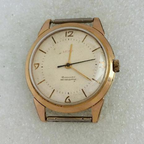 наручные часы Мир СССР редкие