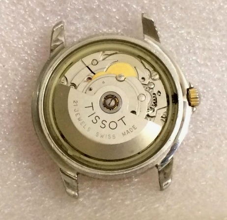 Мужские швейцарские часы Tissot 21 jewels automatic