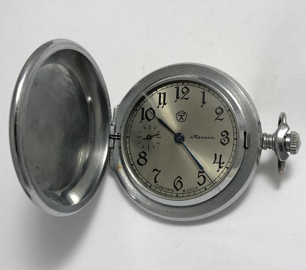 Мужские наручные механические часы СССР Полет
