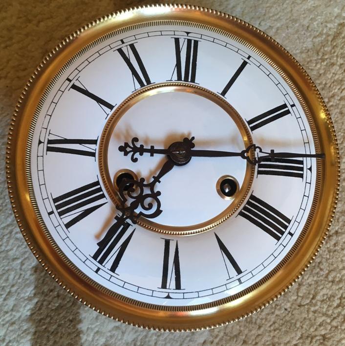 Старинные настенные часы E.R.Schlenker (Kienzle)