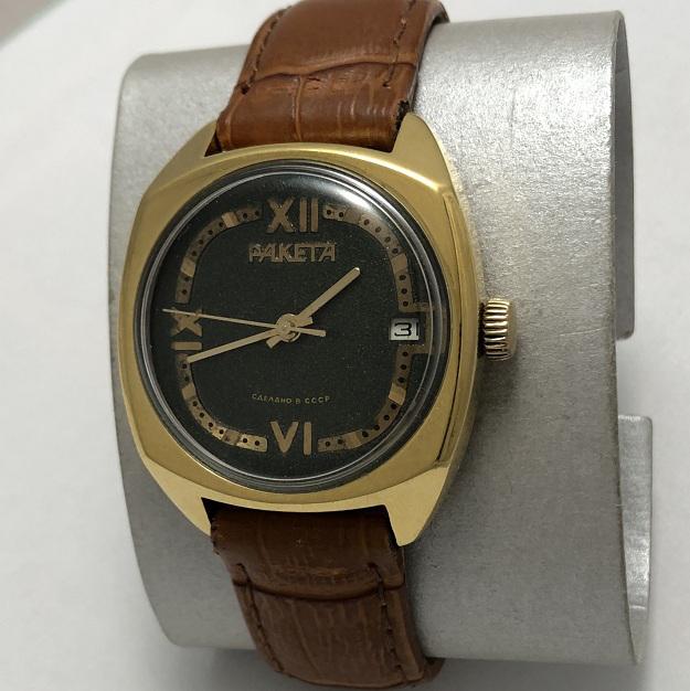 Мужские наручные часы Ракета СССР темные