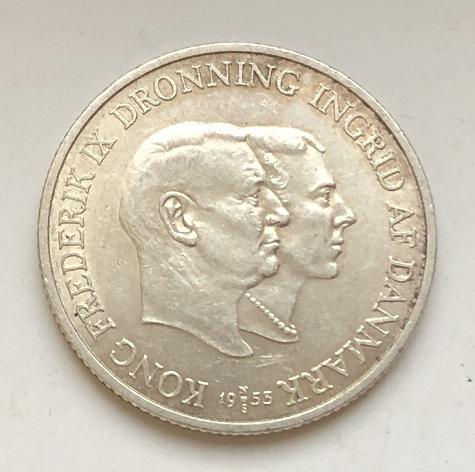 Редкая датская монета
