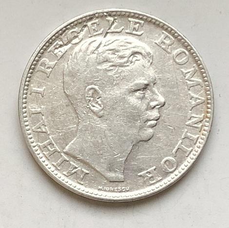 Старинная монета Румынии 200 лей серебро