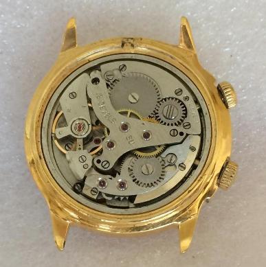 мужские часы Sekonda СССР позолота с будильником