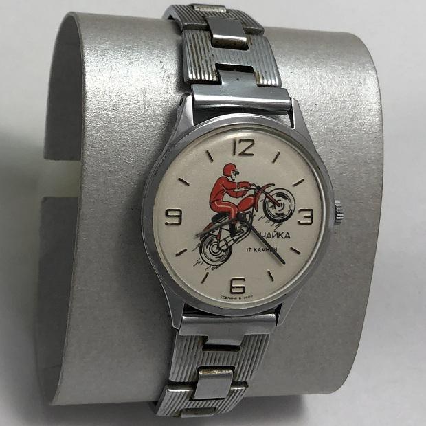 Наручные мужские часы Чайка СССР механика