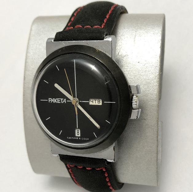 Мужские наручные часы Ракета СССР редкие