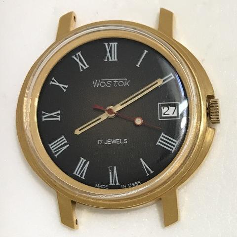 Мужские наручные часы Восток СССР 2409А черные