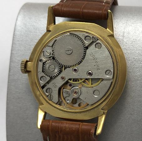 Мужские наручные часы Ракета СССР 2609 НА позолоченный корпус