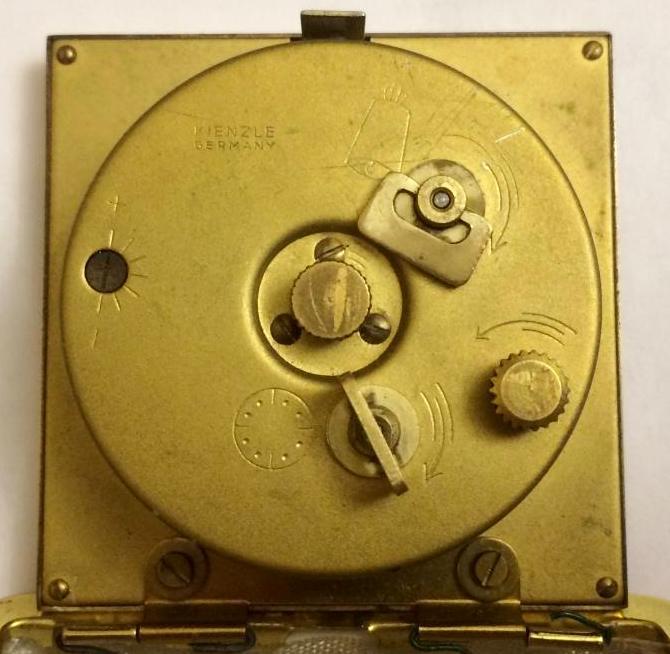 Дорожные часы немецкие Kienzle
