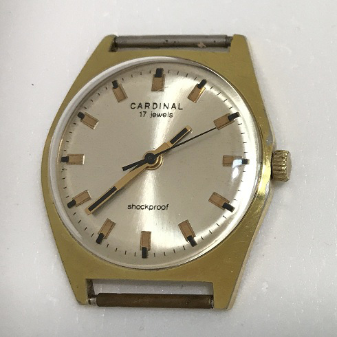 Мужские наручные часы Cardinal из СССР