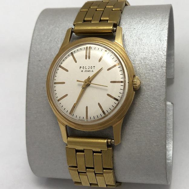 Достойные мужские наручные часы Луч СССР олимпийские