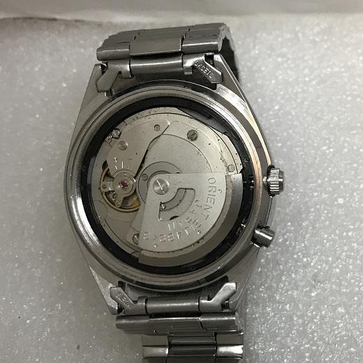 Мужские наручные часы Луч СССР черные с узорами в позолоте