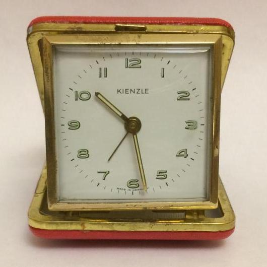 Дорожные часы немецкие Kienzle 60-х годов с будильником