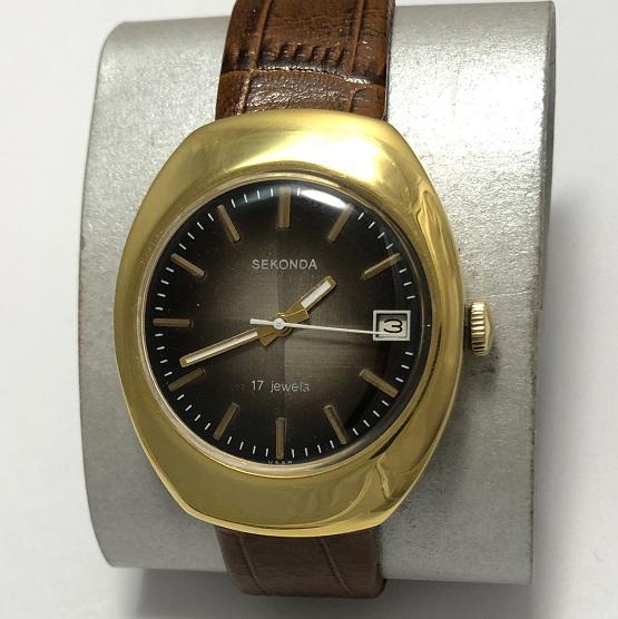 Мужские наручные часы Seconda СССР 17 камней