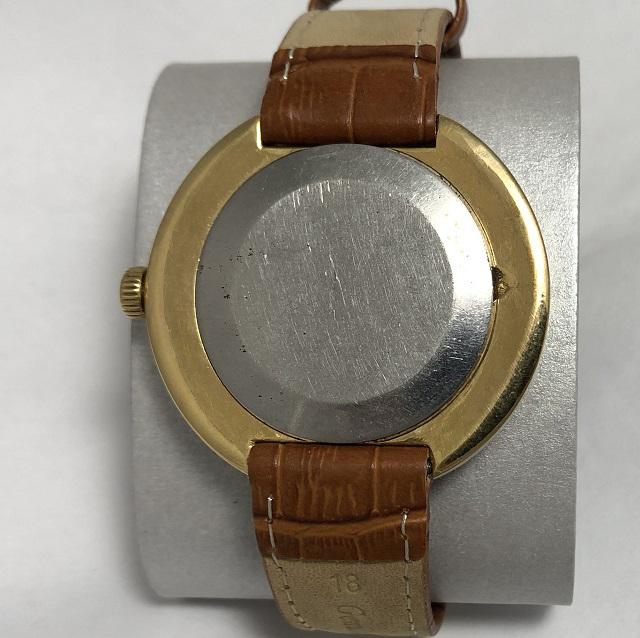 Мужские наручные часы Полет СССР позолота автомат знак качества